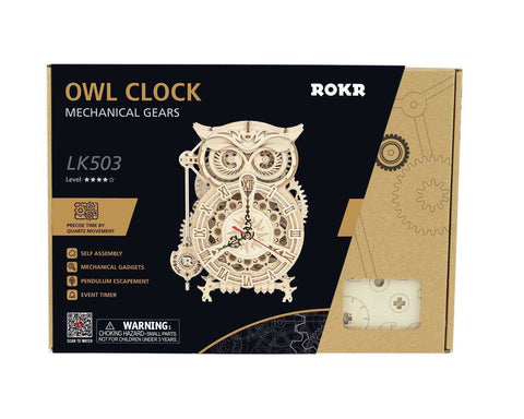 Owl Clock DIY Model Kit