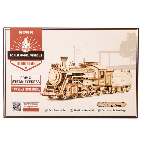 Prime Steam Express DIY Model Kit