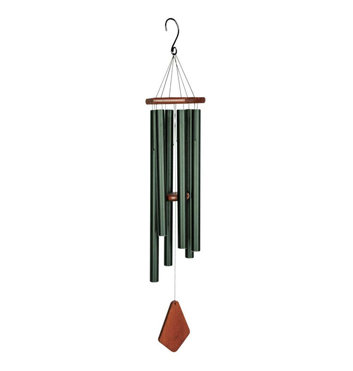 Natures Melody Wind Chime - Premiere Grande Forest Green 18 Inch