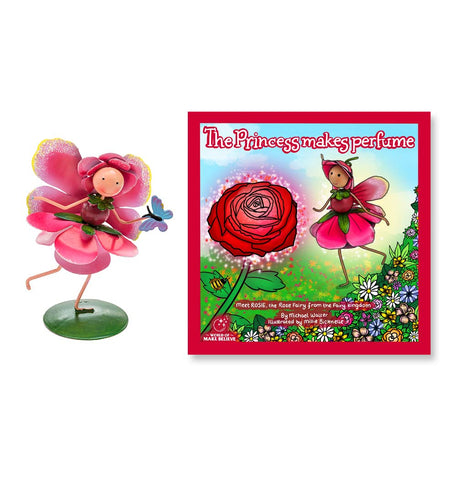 The Princess Makes Perfume Book & Rosie Rose Character