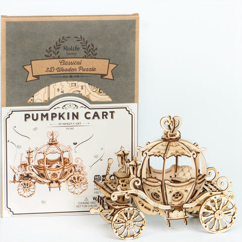 Pumpkin Cart DIY Model Kit