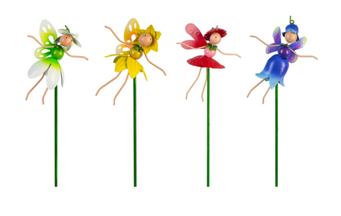 Magical Fairy Pot Stick Set - 4 Characters