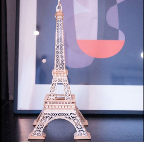 Eiffel Tower DIY Model