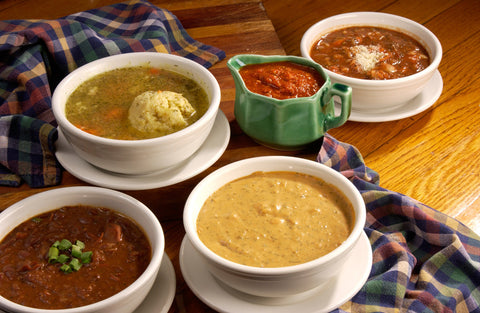 Four Quart Variety Pack of Our Delicious Soup