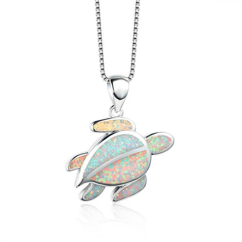 Collier Tortue Feuille