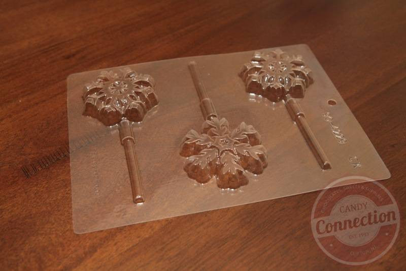 Snowflakes Lollipop Mold
