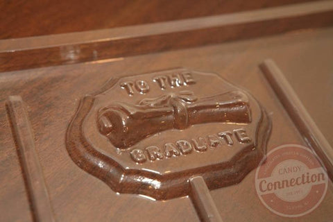 """To the Graduate"" Lollipop Mold"