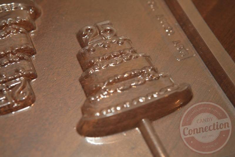 """25"" Tiered Cake Lollipop Mold"