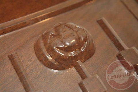 Jack-o-Lantern Lollipop Mold