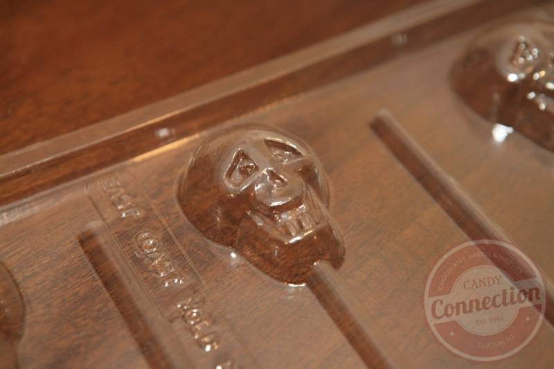 Skull Lollipop Mold