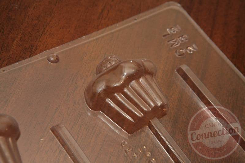 Cupcake Lollipop Mold