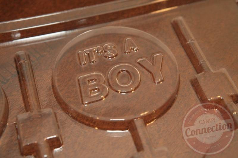 """It's a Boy"" Lollipop Mold"