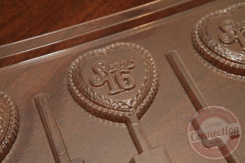 Sweet 16 Lollipop Mold