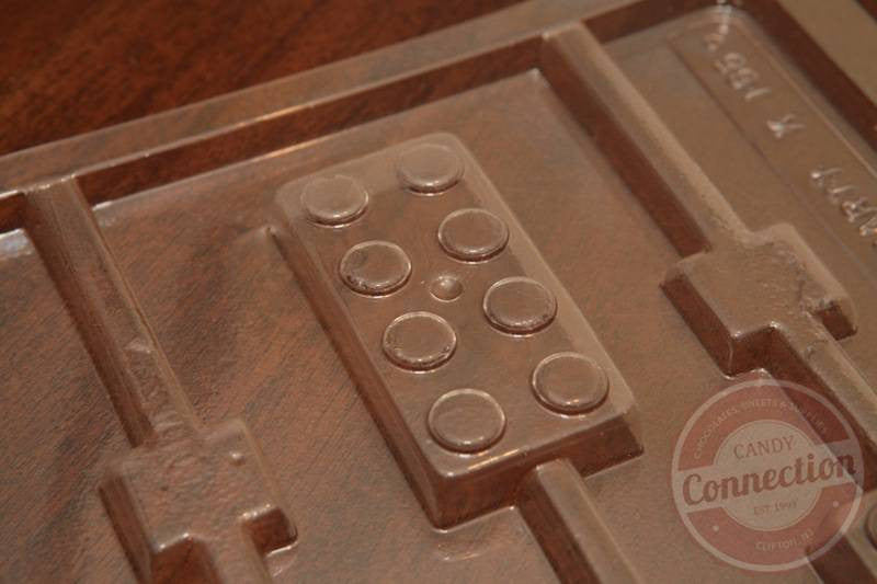 Toy Bricks Lollipop Mold