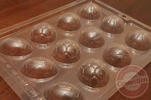 Assorted Sports Balls Mold