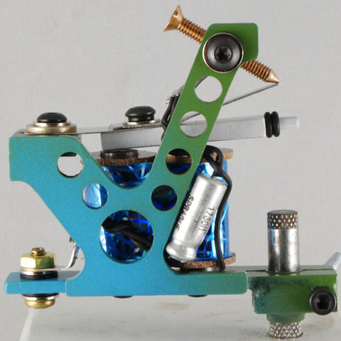 A2. Rogers J Frame- Gumball Blue/Green fade