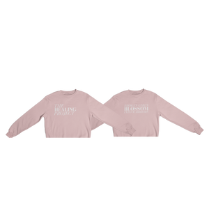 The Healing Project Cropped Crewneck