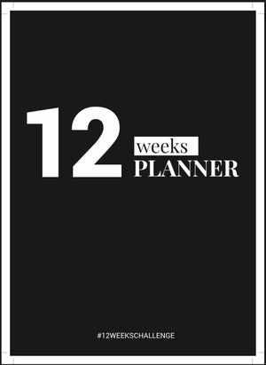 12 Week Planner - Digital Download.