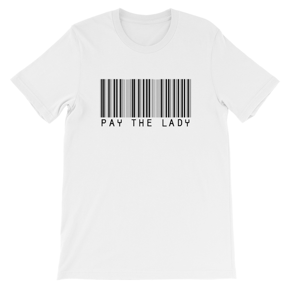 Pay The Lady - Barcode Tee