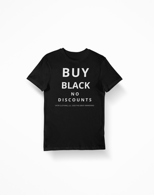 Buy Black, No Discounts