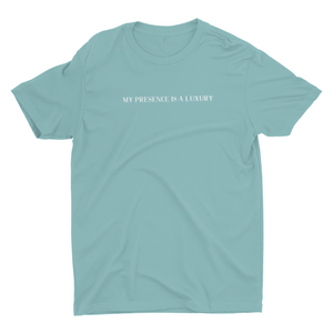 Luxury Tee- Seafoam