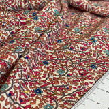 Printed stretch viscose