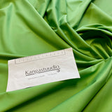 Apple green gabardine