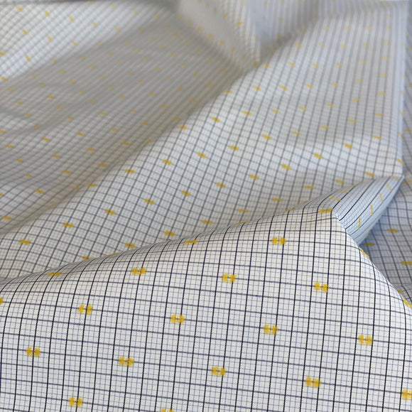 Checked shirting cotton