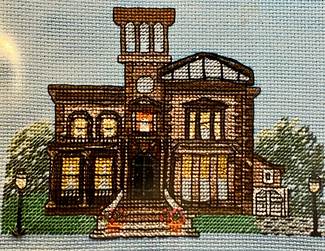 Victoria Mansion Mini Cross Stitch Kit
