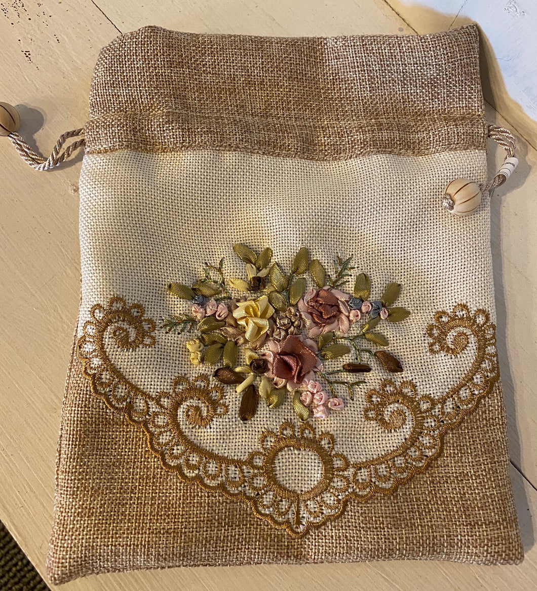 Hand Embroidered Pouches