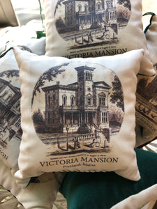 Victoria Mansion Balsam Pillow