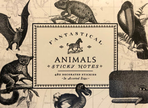 Fantastical Animals- Sticky Notes