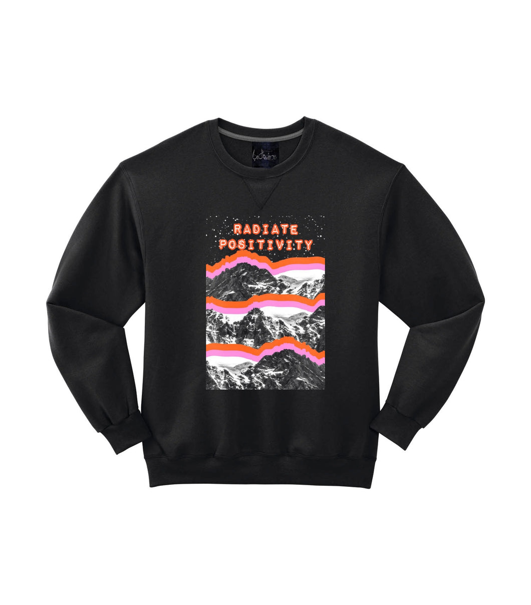 Radiate positivity sweater