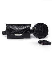 Load image into Gallery viewer, Black Celina Belt Bag