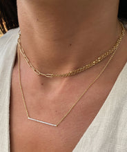 Load image into Gallery viewer, Asymmetrical Chain Necklace
