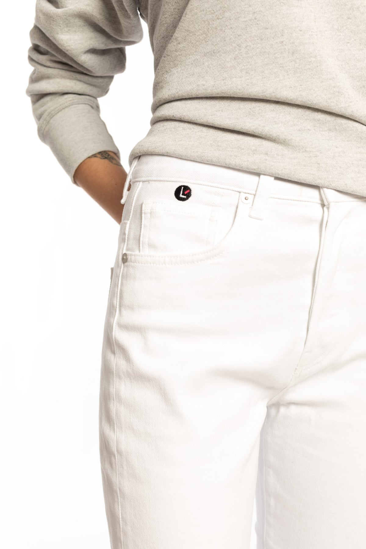 CQY + Larroudé Icon - Rio Slim Fit Jeans