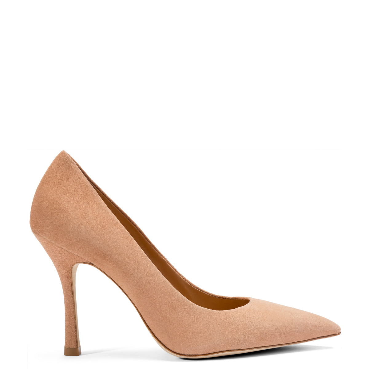 Candy Pump In Tan Suede