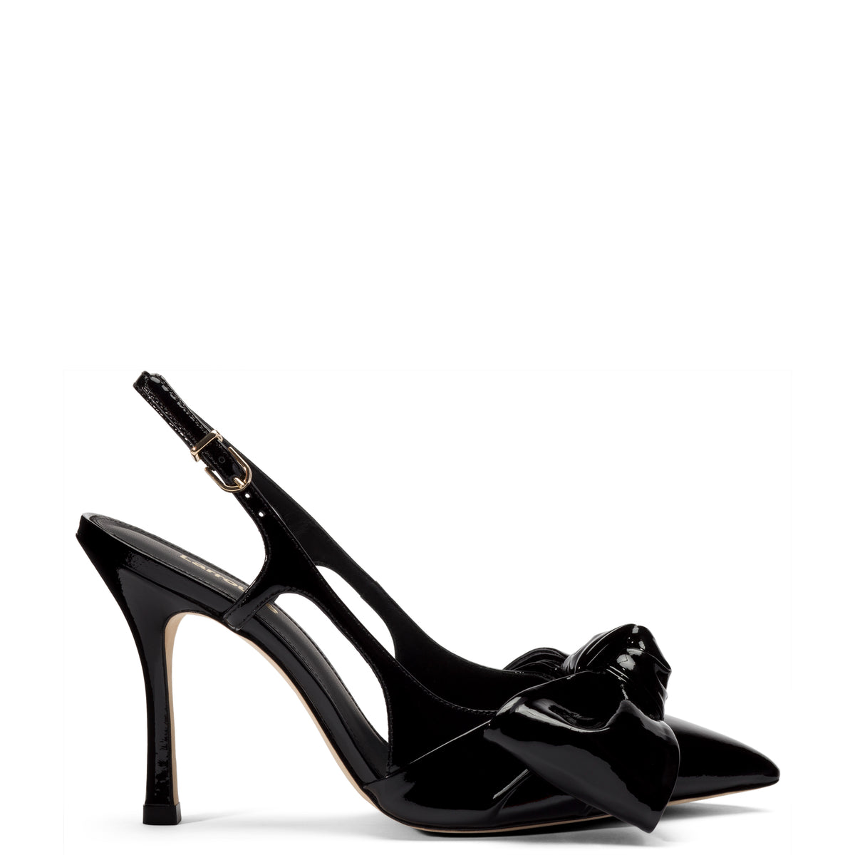 Elle Pump In Black Patent Leather