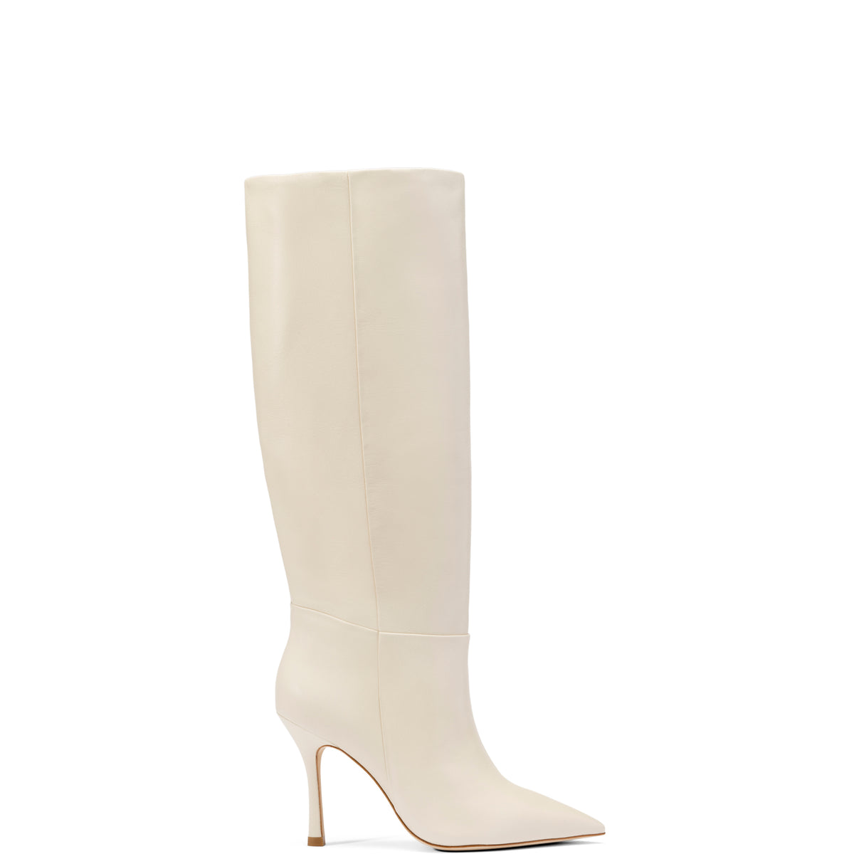 Kate Boot In Ivory Leather