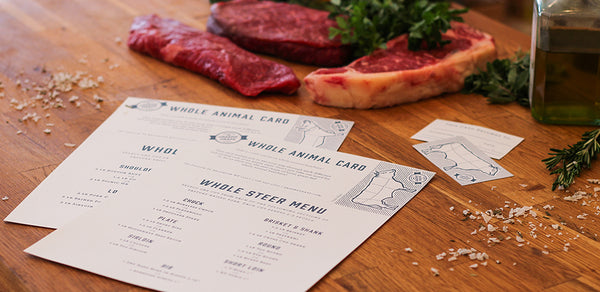 Going Whole Hog: Whole Animal Gift Cards