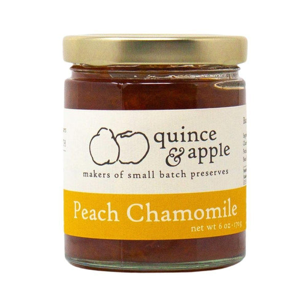 Quince & Apple Peach Chamomile Preserves 6oz. bar