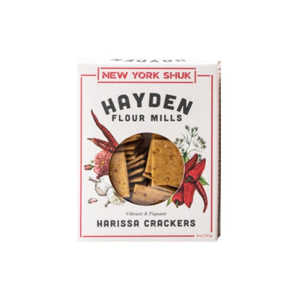 New York Shuk Hayden Flour Millks Harissa Crackers 4oz. box