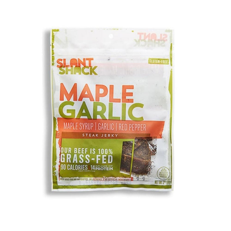Maple Garlic Grass-Fed Beef Jerky