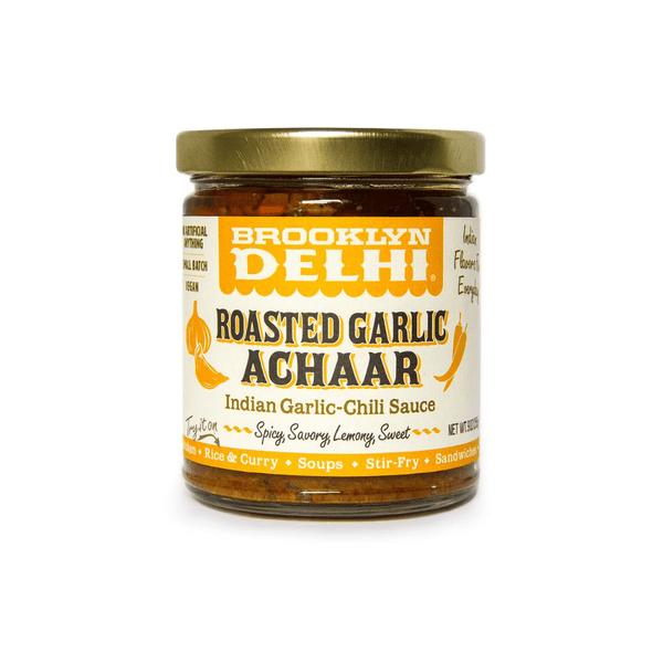 Brooklyn Delhi Roasted Garlic Achaar 9oz. jar