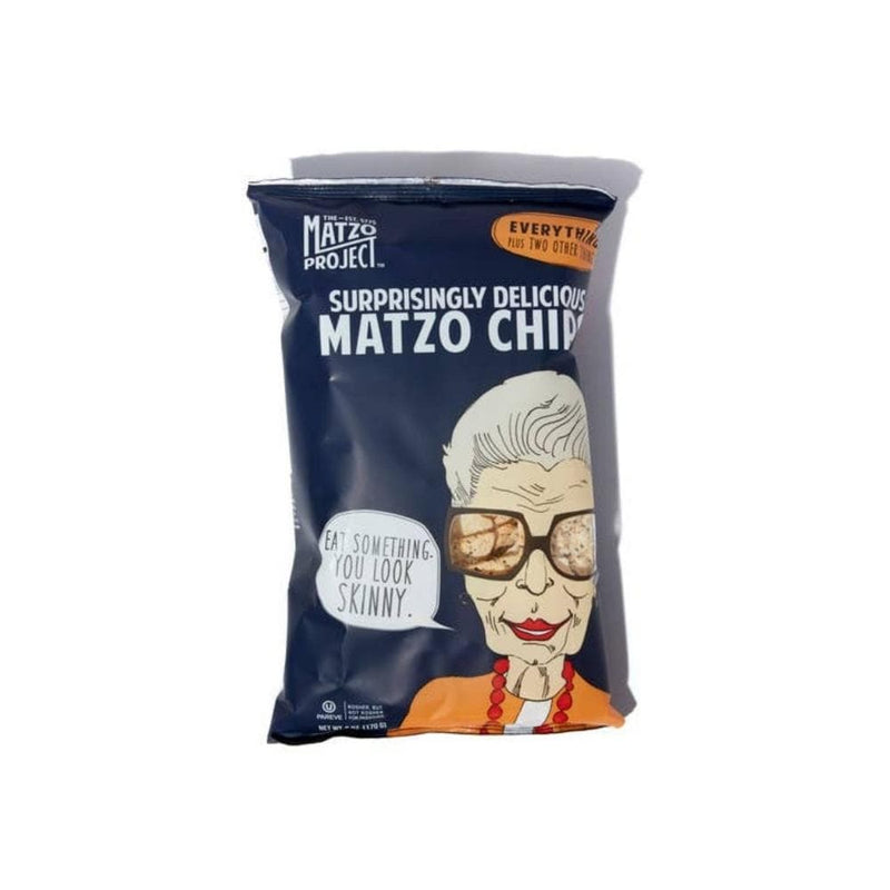 Matzo Project Everything Matzo Chips 6oz. bag