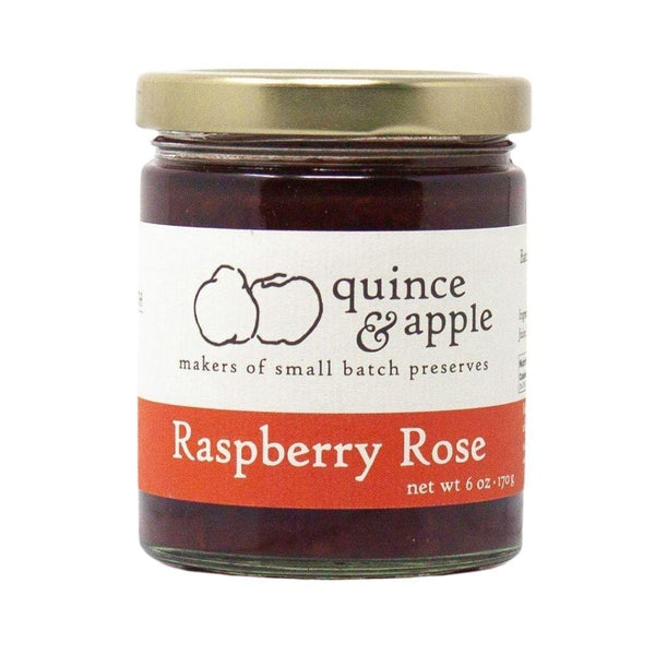 Quince & Apple Raspberry Rose Preserves 6oz. bar
