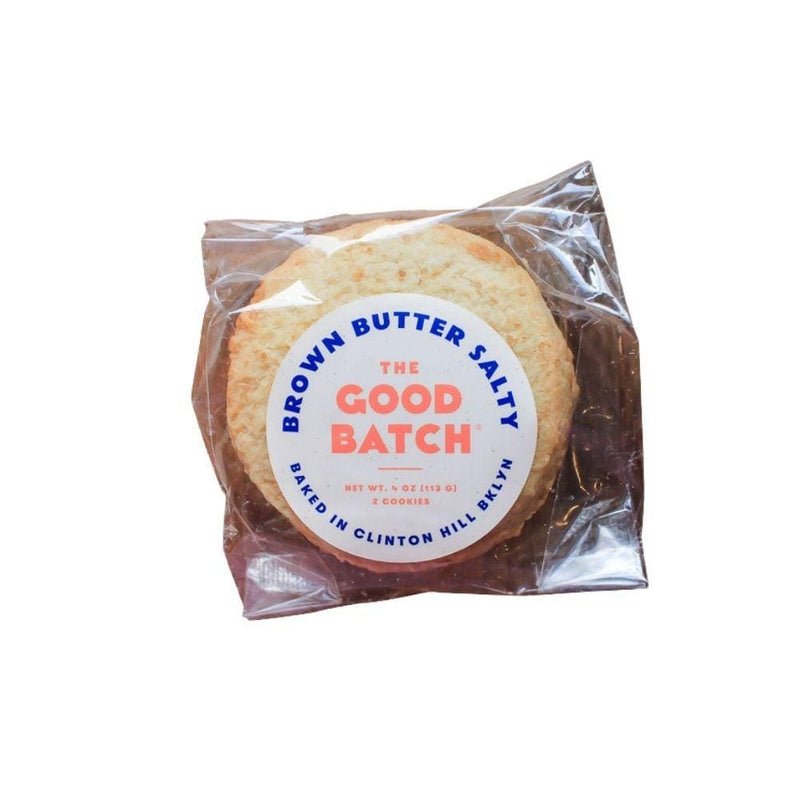 The Good Batch Brown Butter Salty Cookies 4oz. bag
