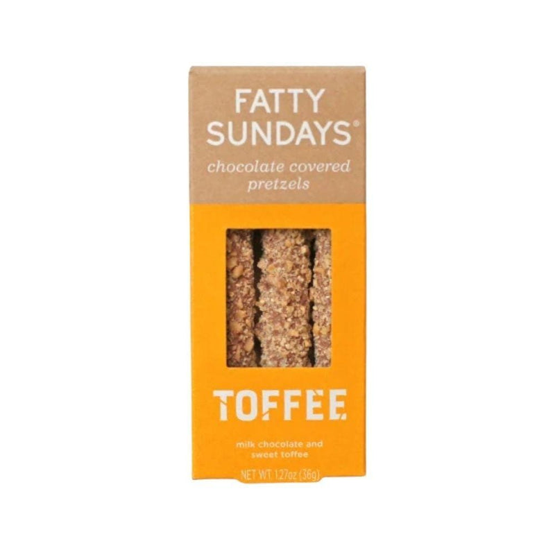 Fatty Sundays Toffee Pretzels