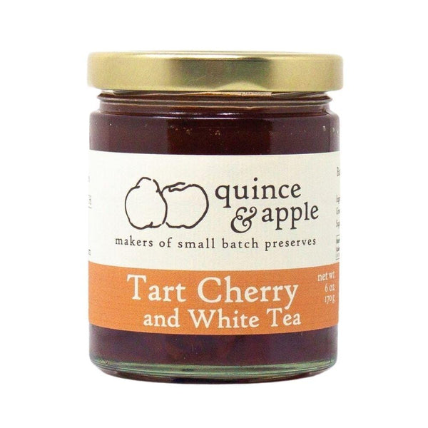 Quince & Apple Tart Cherry and White Tea Preserves 6oz. bar