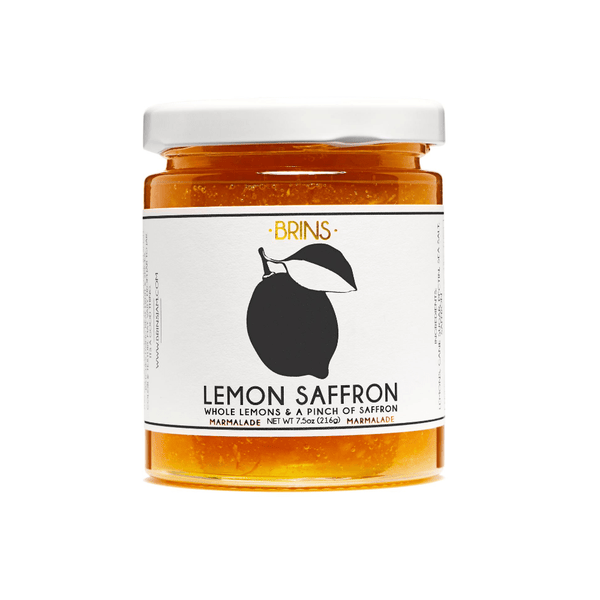 BRINS Lemon Saffron Jam 7.5oz. jar